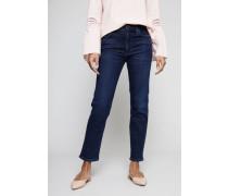 High Rise Cigarette Ankle Jeans 'Cara' Indigo