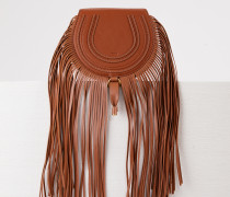 Tasche 'Marcie Mini Saddle' Tan
