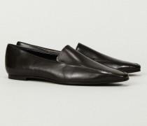 Leder-Loafer 'Minimal' Braun - Leder