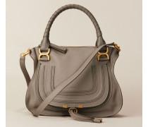Handtasche 'Marcie Medium' Cashmere Grey - Leder