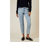 Skinny Boyfriend Jeans 'Tomboy' Blau