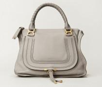 Handtasche 'Marcie Large' Cashmere Grey - Leder