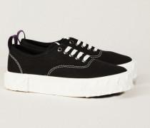 Sneaker 'Viper' mit Plateausohle Schwarz