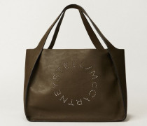 Shopper mit Stella-Logo 'Small Tote Bag' Khaki
