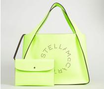 Shopper mit Stella-Logo 'Tote Bag' Neongelb