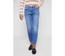 Schmale Boyfriend Jeans 'Tomboy' Hellblau