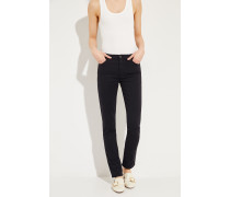 Cigarette Leg Jeans 'The Prima' Schwarz