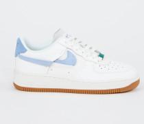 Plateau-Sneaker 'Air Force 1' Weiß/Blau/Grün