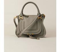 Handtasche 'Marcie Small' Cashmere Grey - Leder