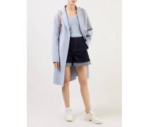 Cashmere Pullover mit V-Neck Hellblau