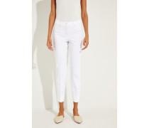 Klassiche Hose 'Stella' Weiß