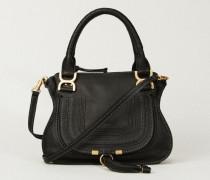 Handtasche 'Marcie Small' Schwarz - Leder