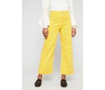 Verkürzte Jeans 'Caron' Saffron