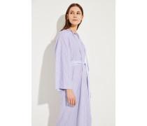Gestreiftes Kleid 'Koda' Blau/Rot -