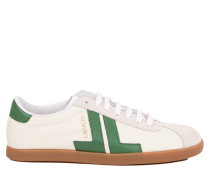 Sneaker 'Glen JL' Ecru/Grün