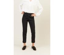Stretch-Jeans 'Sabrina' Schwarz