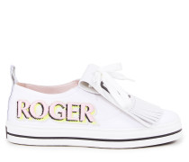 Sneaker 'Call me Vivier Patch' Weiß/Multi