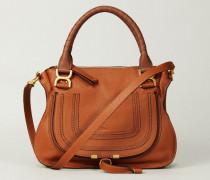 Handtasche 'Marcie Medium' Tan - Leder