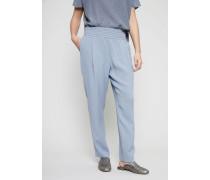 Hose mit elastischem Bund Taubenblau