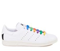 Leder-Sneaker 'Stan Smith' Weiß/Multi