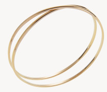 Armreif 'Twisted' 18 Kt.Gelbgold