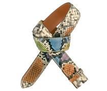 Pythongürtel Multicolore 4 cm