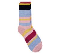 Socken Daphne Block Rosa