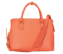 "Leder Bag My Life ""M"" in Koralle"