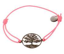 Armband Tree of Life in Neon Pink