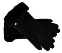Handschuhe Shorty in Schwarz