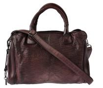Handtasche Leguan in Bordeaux