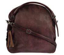 Handtasche Audrey Linecut in Bordeaux