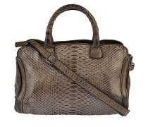 Handtasche Infinito in Braun