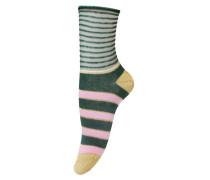 Socken Ines in Granite Green