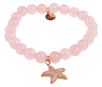 Armband Armparty in Rosa mit Anhänger