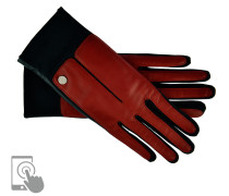Handschuhe Sportiv TouchTec in Rot