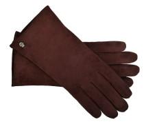 Handschuhe Classic Kaschmir in Bordeaux