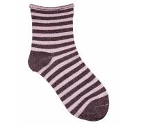 Socken Claudine in Rosa/Lila