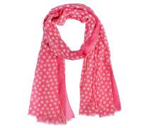 Schal Etoiles in Pink