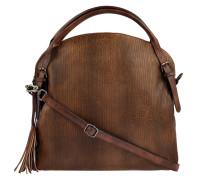 Handtasche Audrey Linecut in Braun