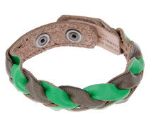 Lederarmband in mud