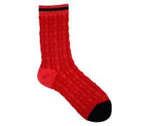 Socken Diane in Rot