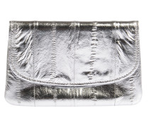 Portemonnaie in Silber Metallic