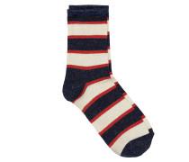 Socken Dory Stripe Blau/Rot