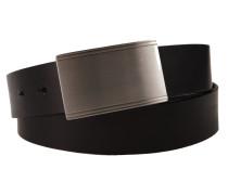 Koppelgürtel in Schwarz