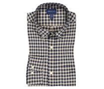 Kariertes Oberhemd mit praktischer Brusttasche
