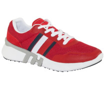Sneaker in Mesh-Qualität in Rot