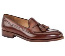 Eleganter Slipper in Braun