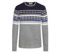 Pullover im Alpaca-Wolle-Mix in Grau