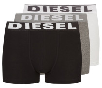 3er Pack Boxer Trunk in Weiss